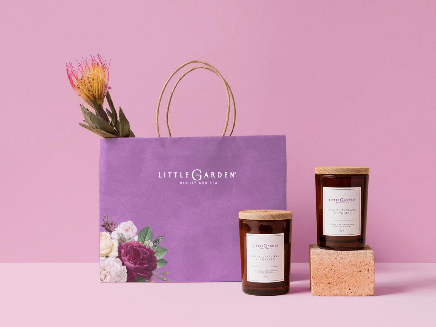 beauty branding brand identity Brand Intheblack branding  flower luxury Spa store interior