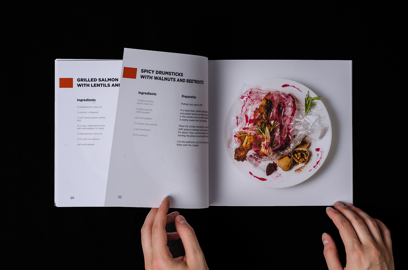 set photography styling  Cook Book food photography waste photoshop editorial design