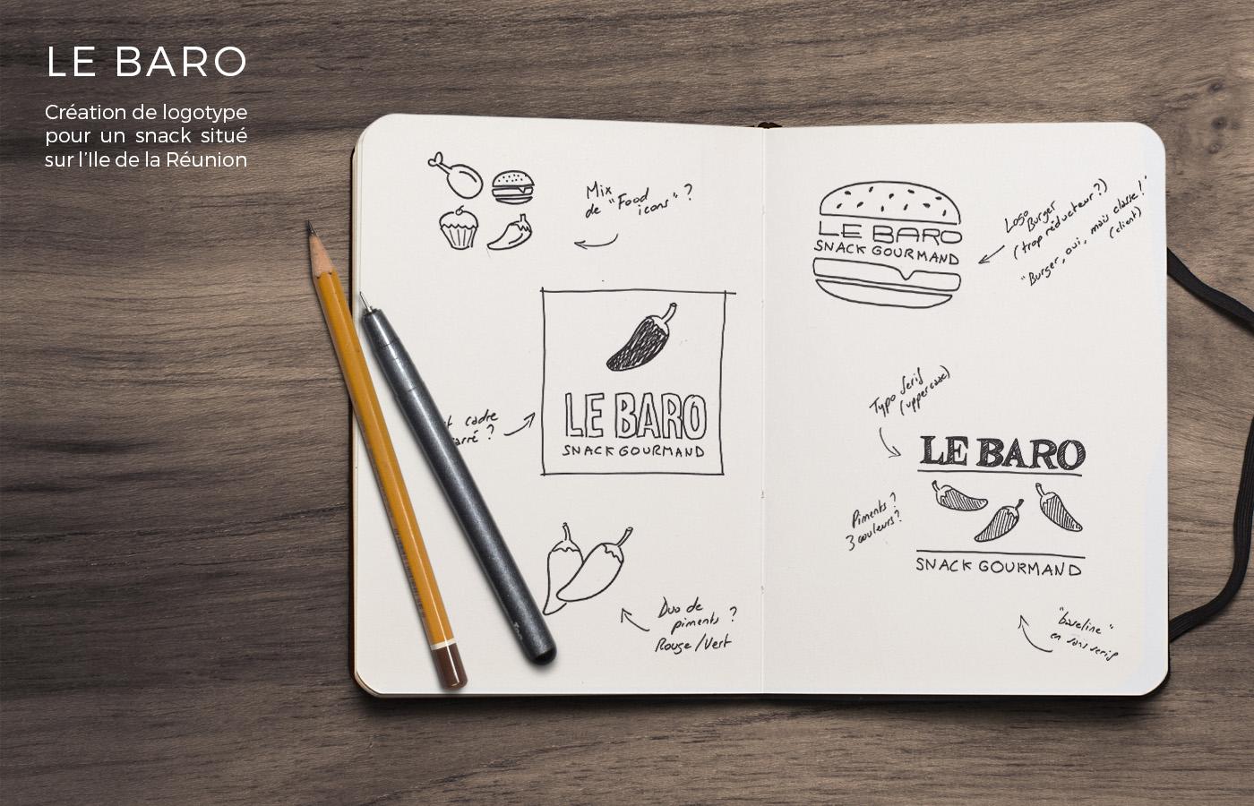 logo Logotype visual identity branding  graphic desin graphisme snack Food  restaurant Packaging