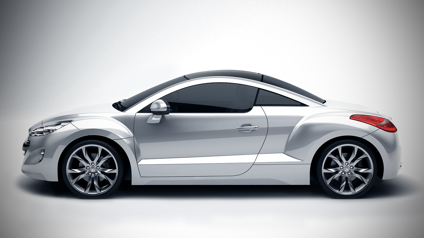 peugeot 308 rcz white edition on behance. Black Bedroom Furniture Sets. Home Design Ideas