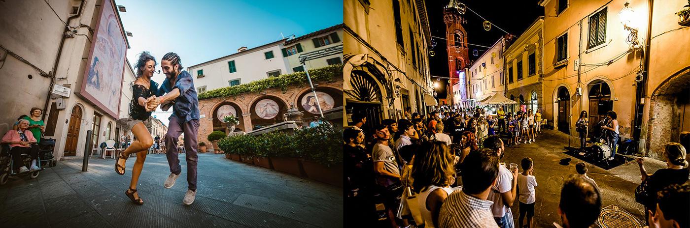 Tuscany Festival Graphic ILLUSTRATION  tuscania festival art music activity