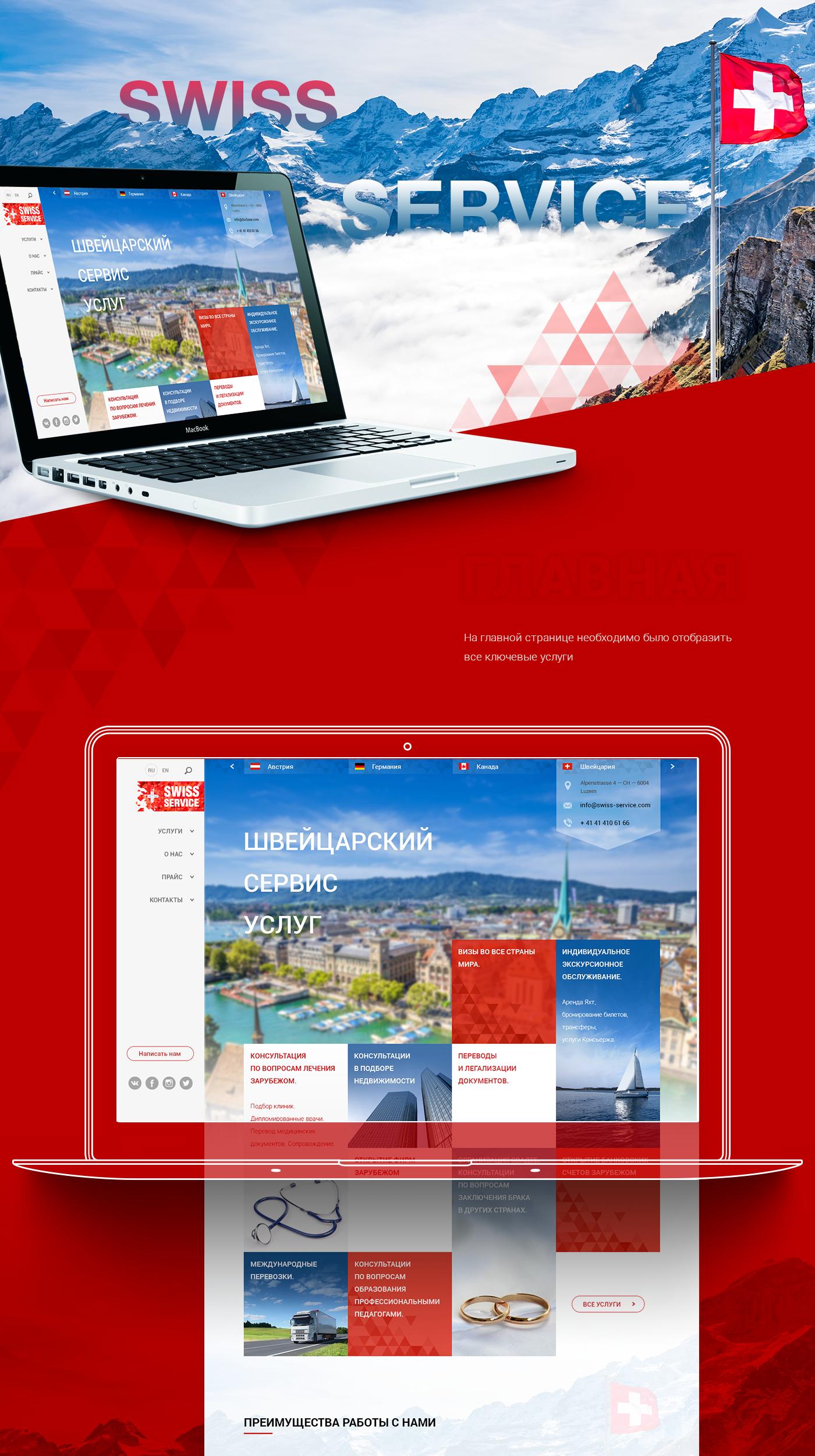 Web design Responsive site