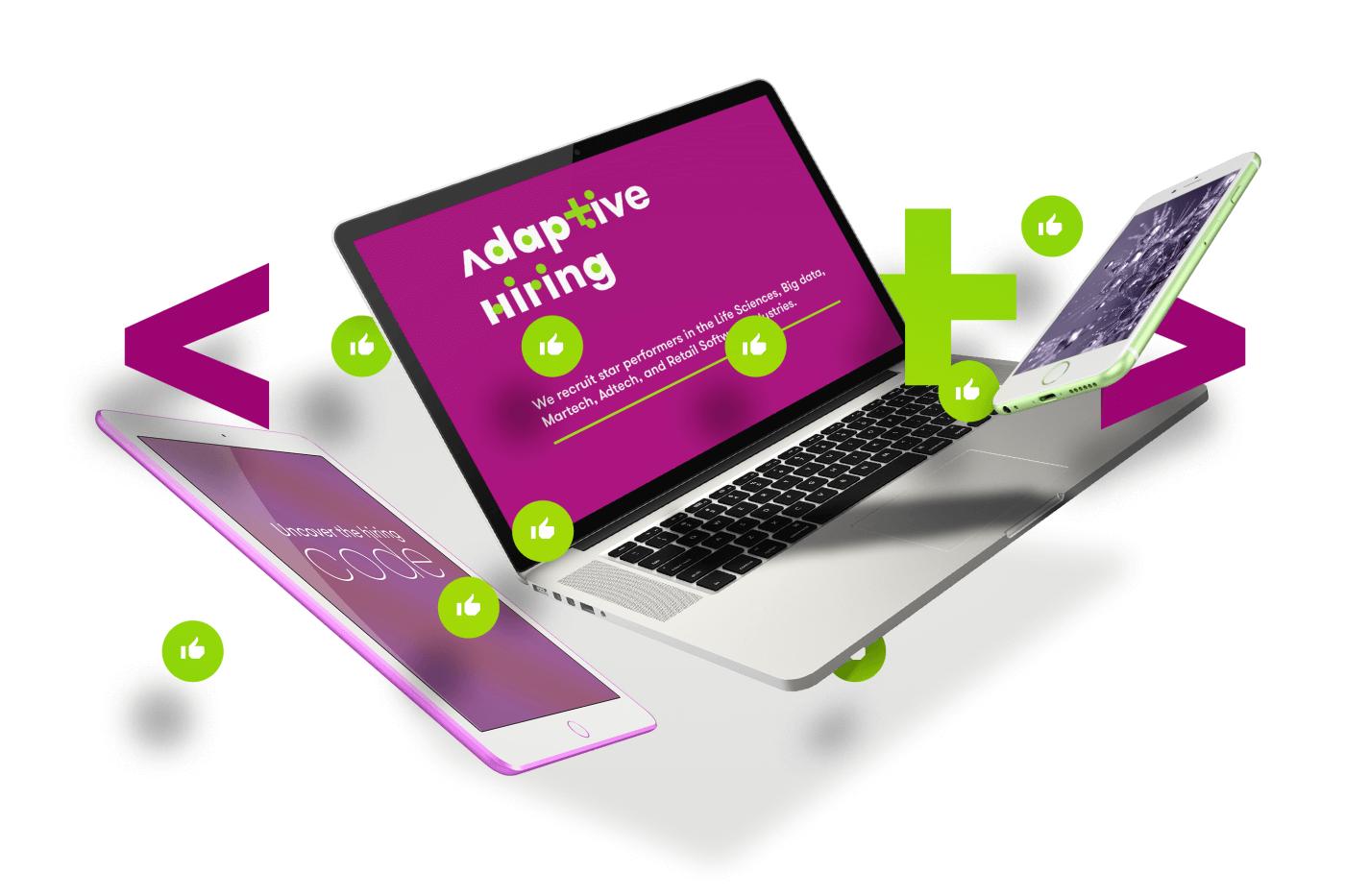 logo branding  identity Stationary design business card idea Selective die cut Web Design  code expression