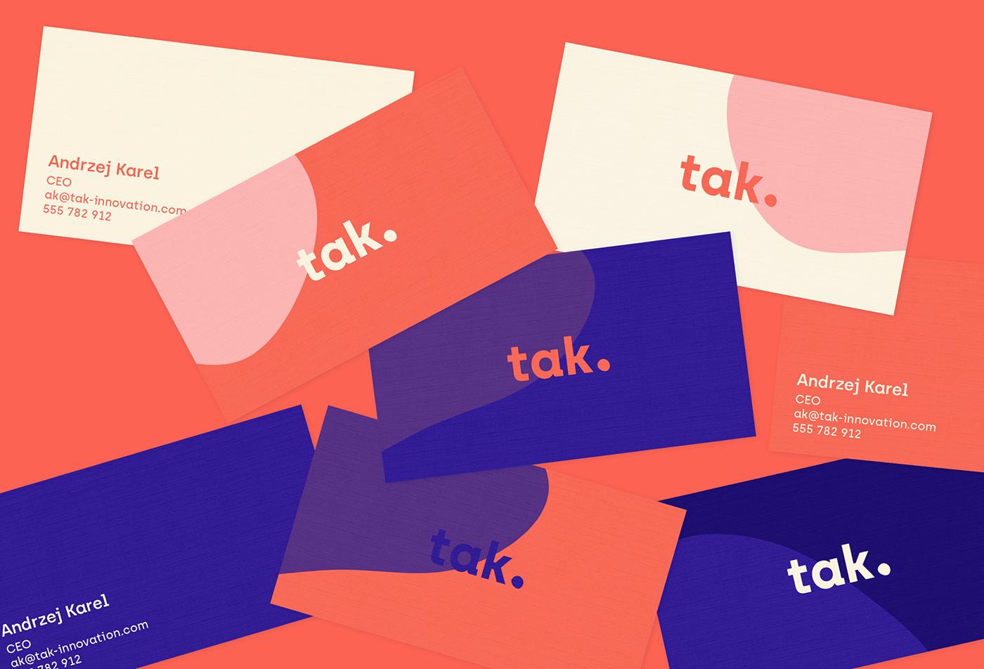 business card tak innovation