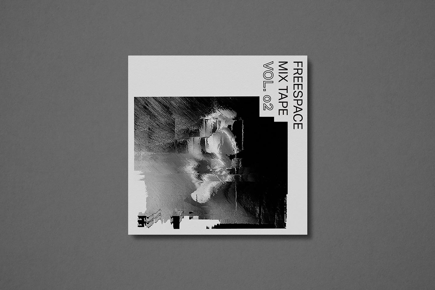 innoise jerry luk Hong Kong music CD design cd Packing Design black white cd packing