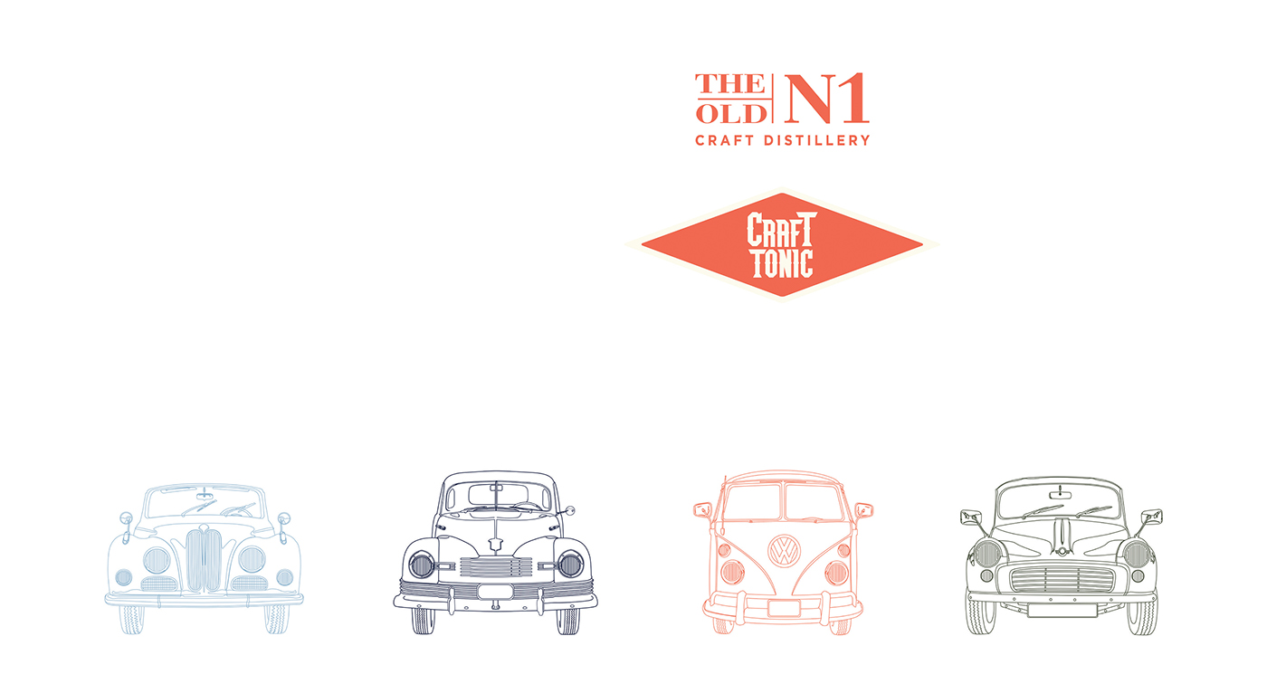 Student Project | The Old N1, Craft Tonic on Behance