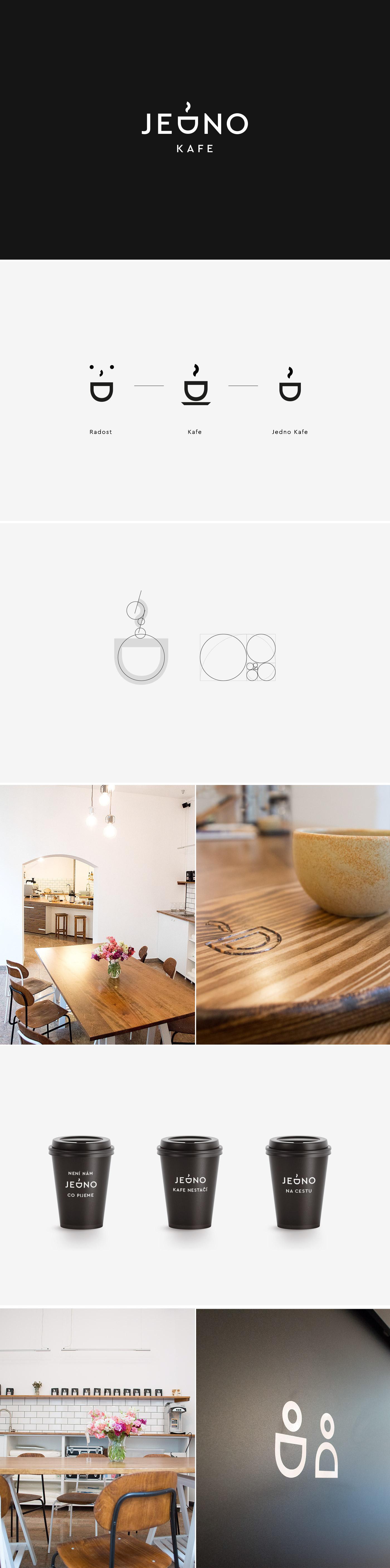 cafe Coffee branding  logo cup Corporate Identity CI