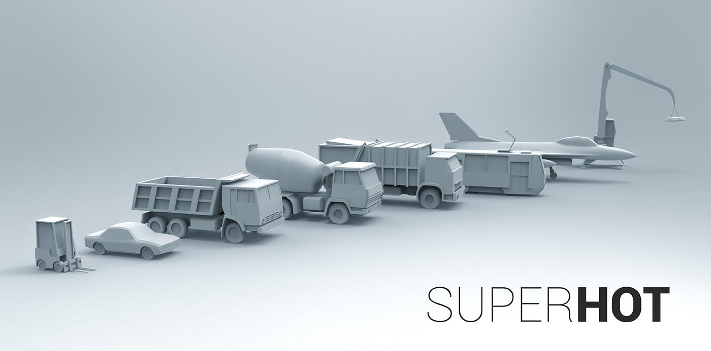 Superhot On Behance