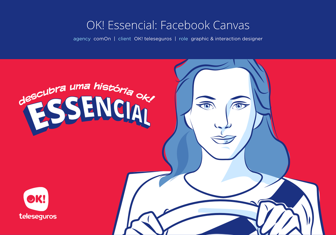 facebook canvas comics story mobile Advertising  Display insurance Auto