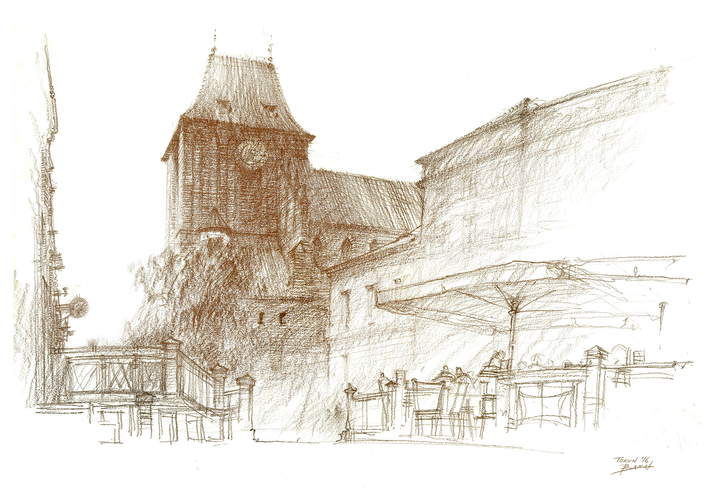 高質感的20套建築手繪欣賞