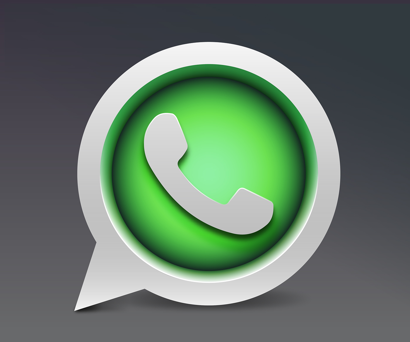 WhatsApp Gallery: Whatsapp Icon Design Concept On Behance