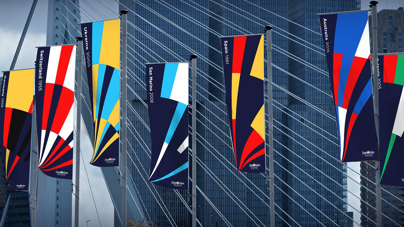 Eurovision 2020 flags