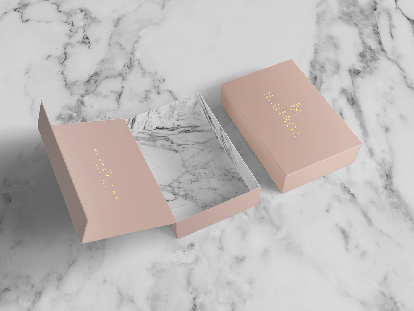 Hautbox Luxury Brand Identity Packaging Design On Behance
