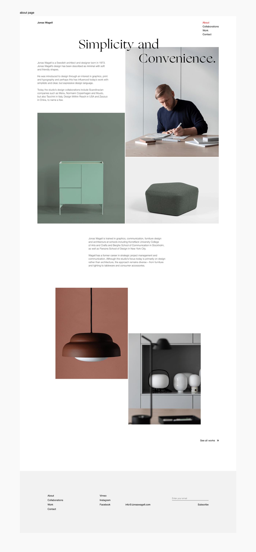Image may contain: furniture, screenshot and minimalist