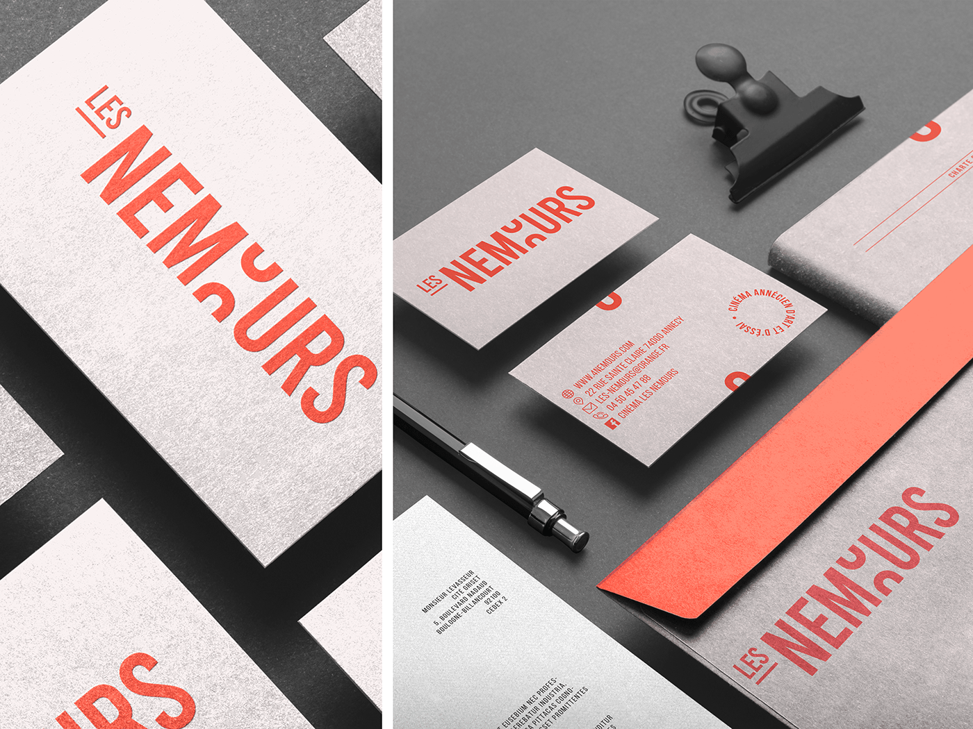 Brand manual Les Nemours