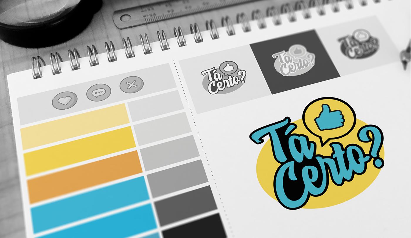 Rebrand game show tv broadcasting Logo Design
