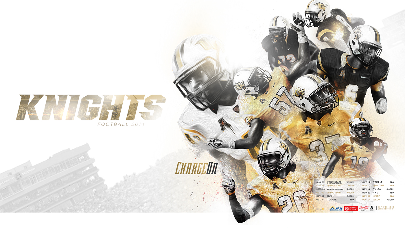 UCF KNIGHTS 2014-15 on Behance