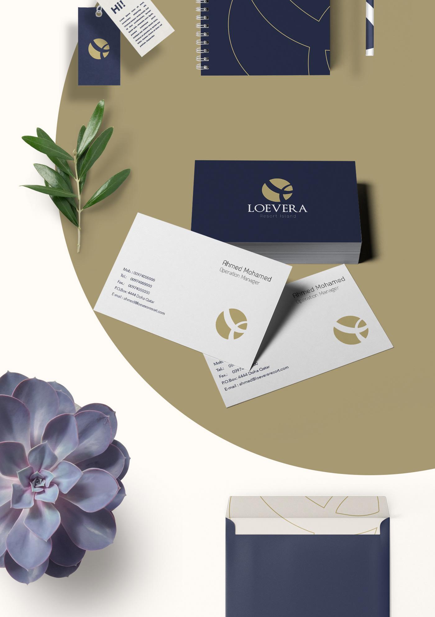 resort doha Qatar branding  logo identity dubai Greece hotel KSA