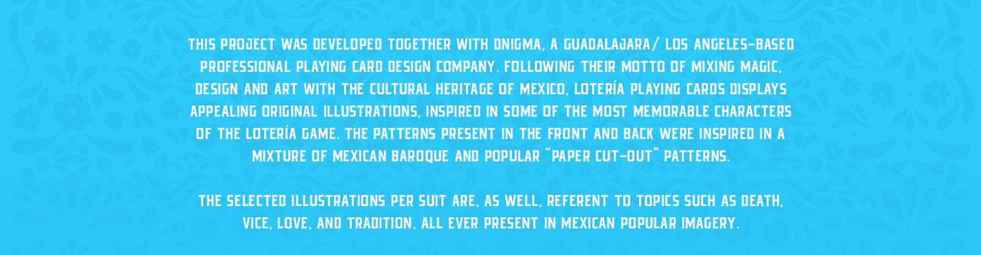 loteria mexico cards Magic   mexican culture deck Playing Cards Guadalajara Kickstarter cardistry