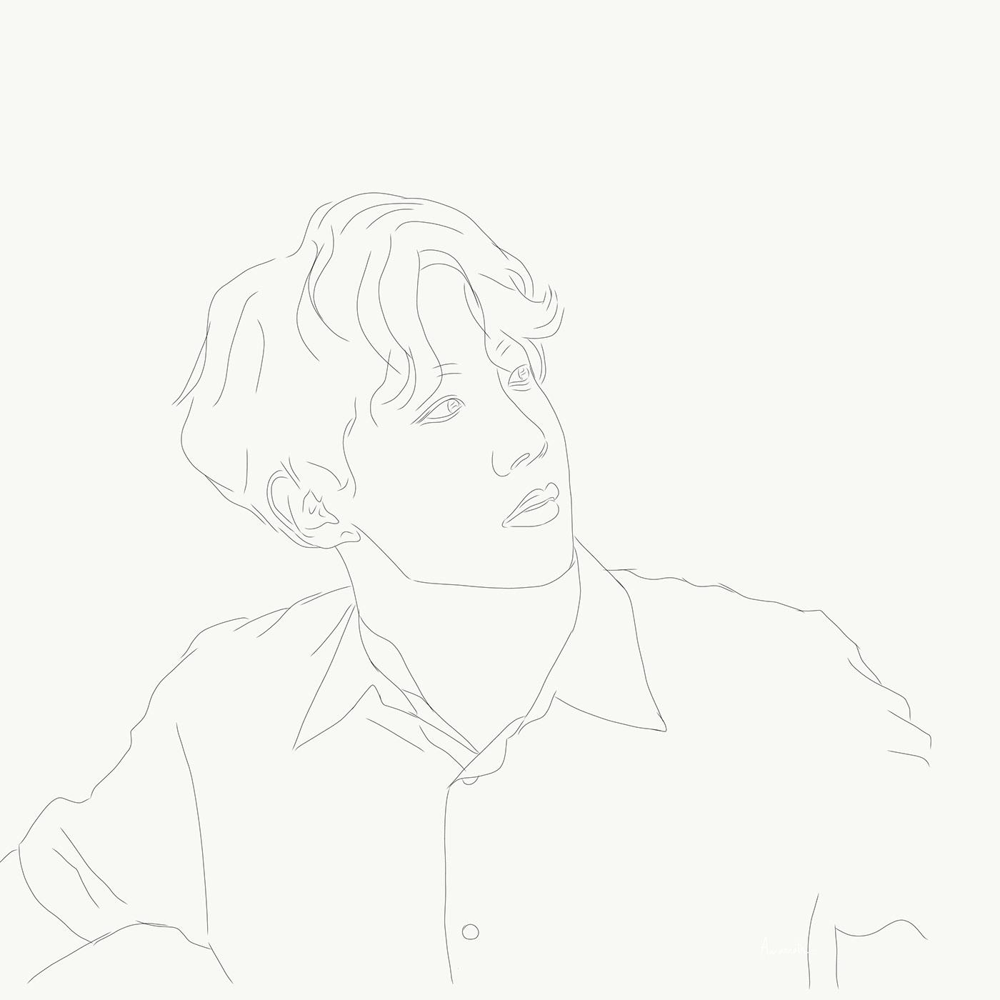 #adobeillustratordraw #blending #BTS #Creative #DigitalArt #illustration