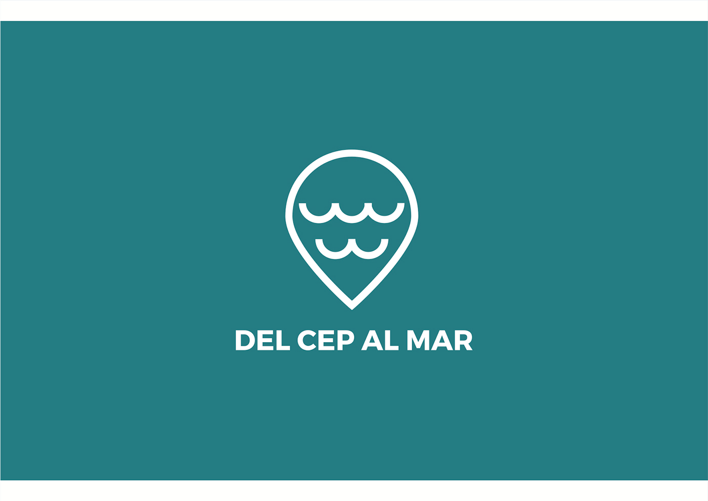 cep mar logo Logotipo Logotype flyer Recorrido mapa Iconos
