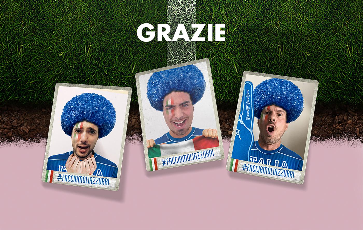 gazzettadellosport Azzurra sport football soccer calcio integrated Project campaign digital campagna integrata campagna integrata Integrated Campaign Gazzetta dello Sport