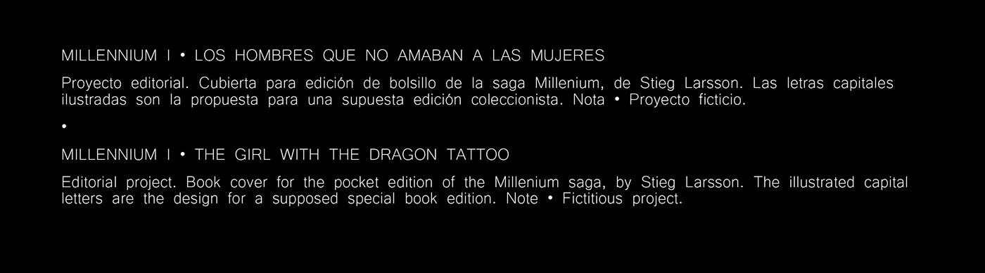 book bookcover cover coverbook coverdesign editorialdesign lettering Millennium Movies redesign