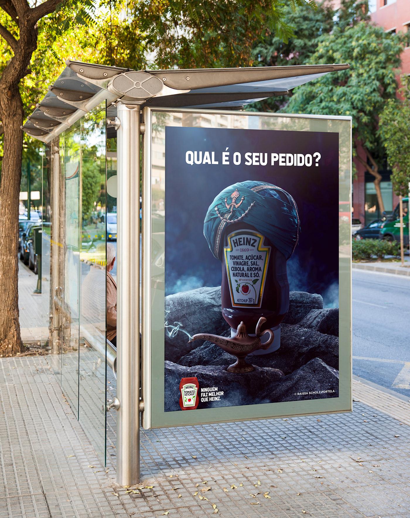 Kraft Heiz ketchup Curitiba publicidade aladdin disney marketing   campanha publicitaria