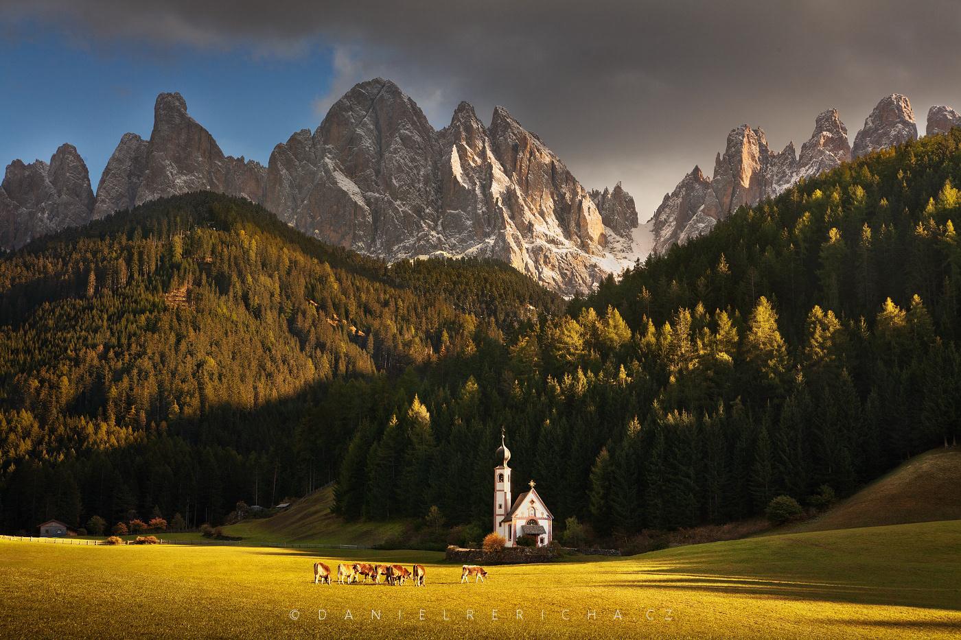 Magické kostely - Itálie - Dolomity