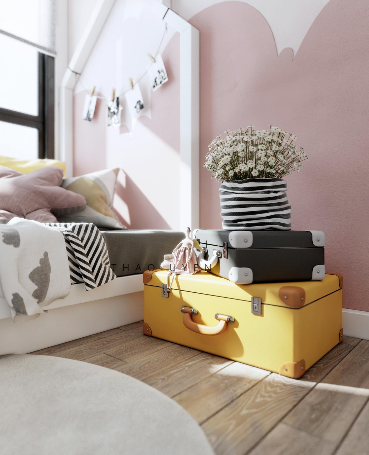 高品質的18張粉紅色房間欣賞
