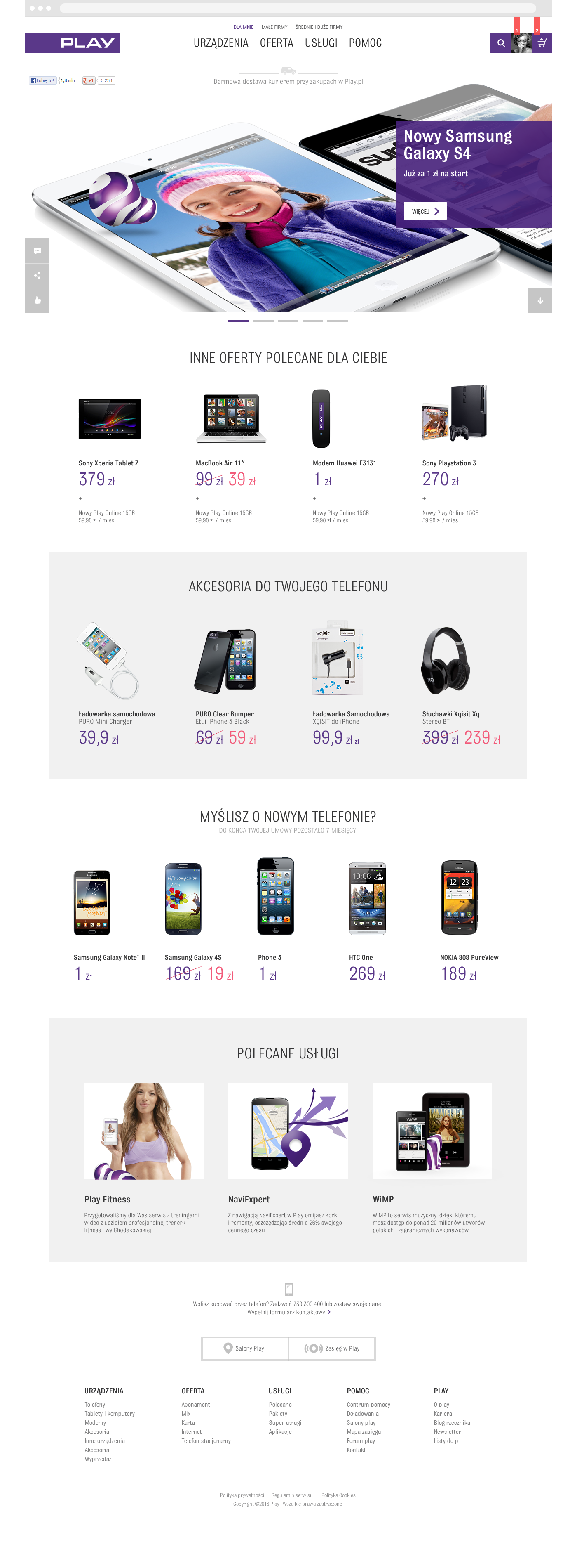 Telecom e-commerce Website portal ux play design Webdesign