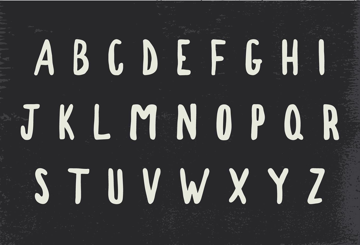 Free font free fonts freebies Brush font hand drawn sans serif Hand Painted freebie free typeface