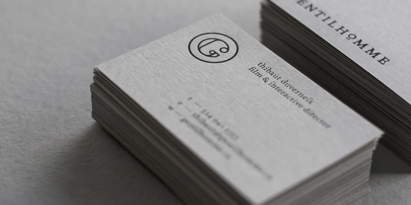 Gentilhomme identity on Behance
