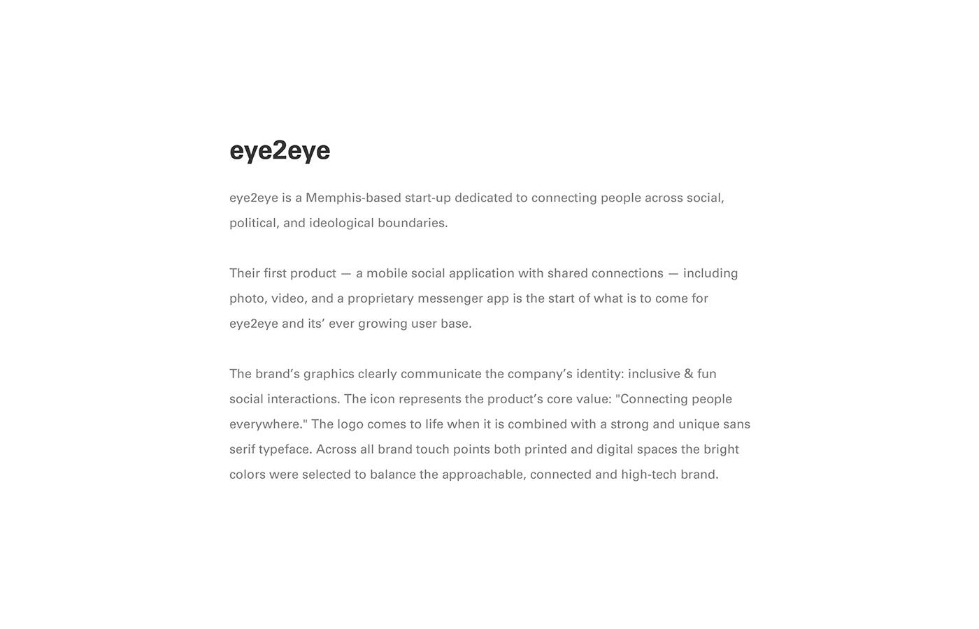 eye2eye on Behance
