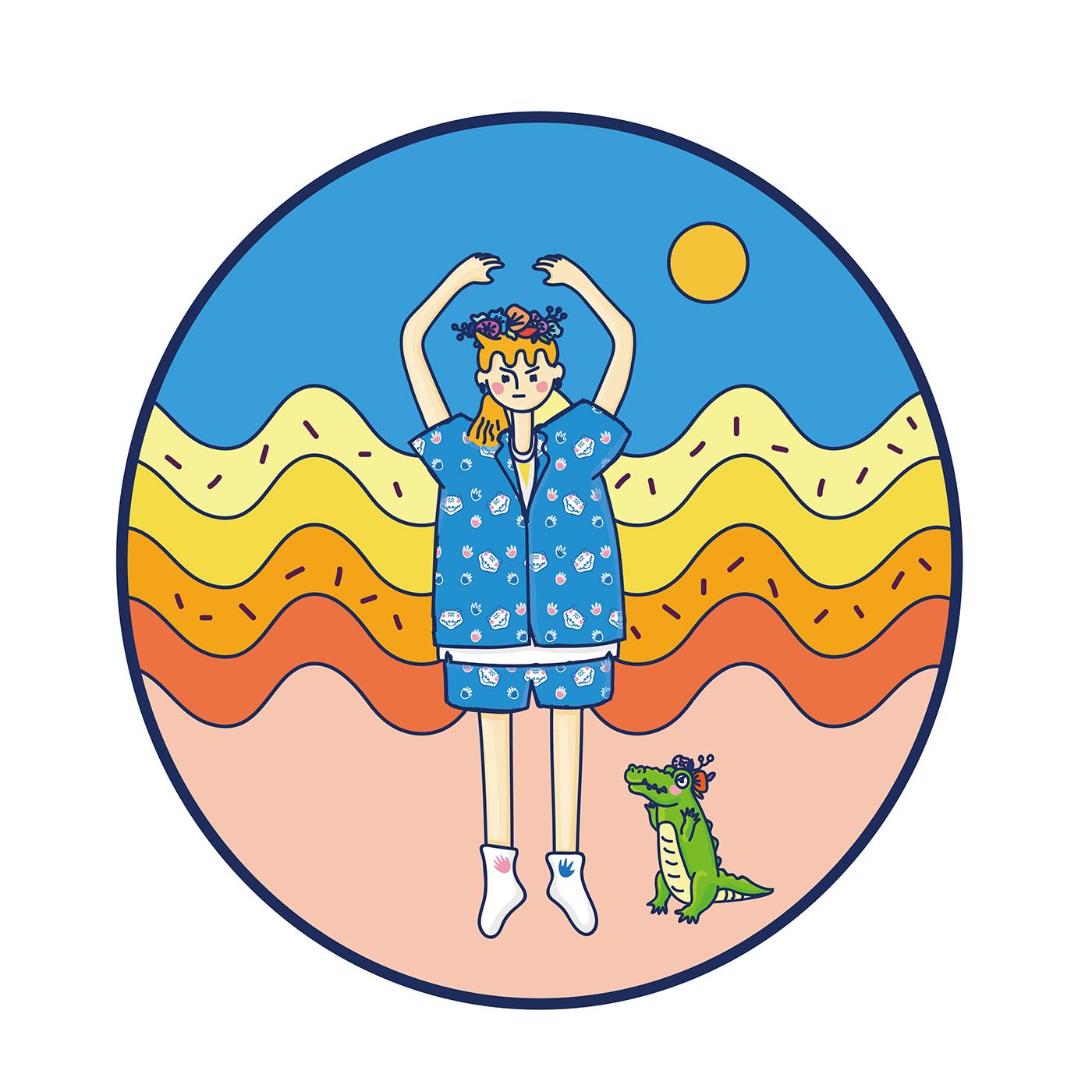 極美的45款韓國插畫欣賞