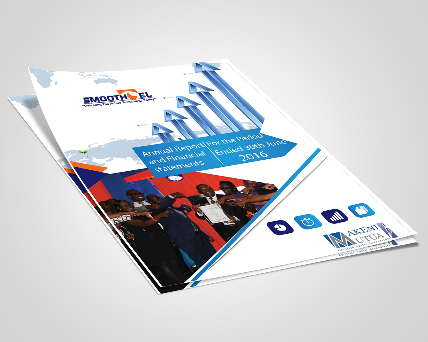 inspiration cover design annual report corporate branding Financial Report Design graphic design