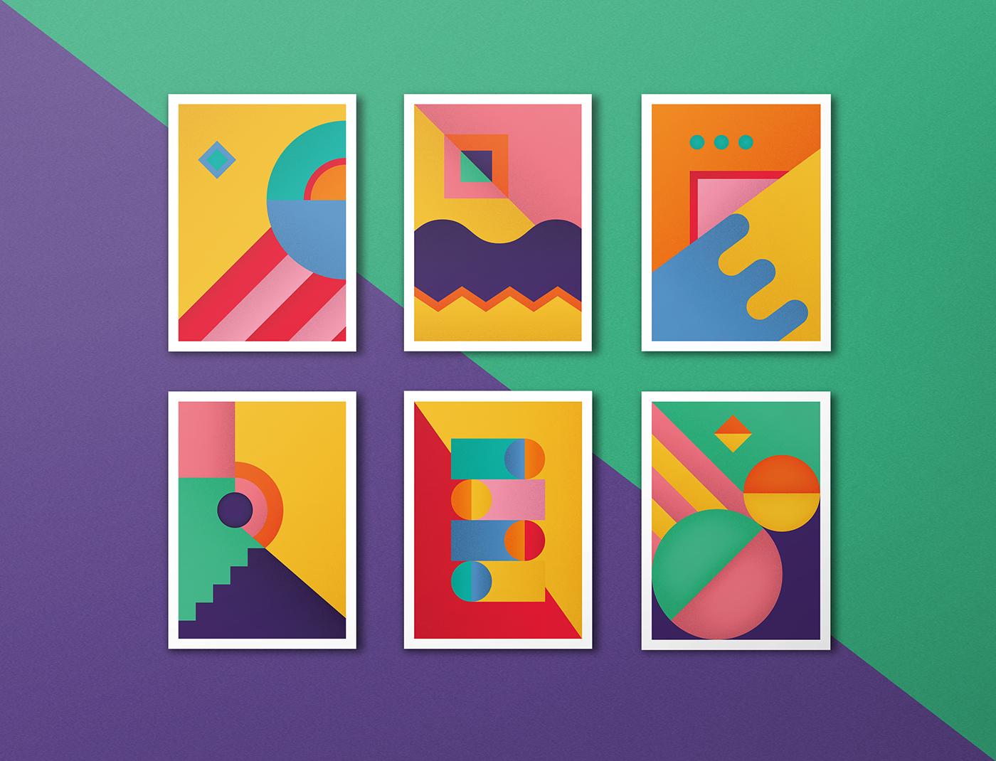 高質感的15款幾何設計欣賞