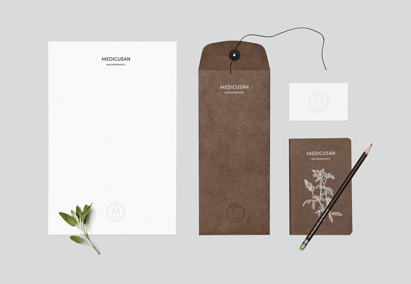 Nature Health supplements brand package design  Packaging typography   minimalistic logo organic