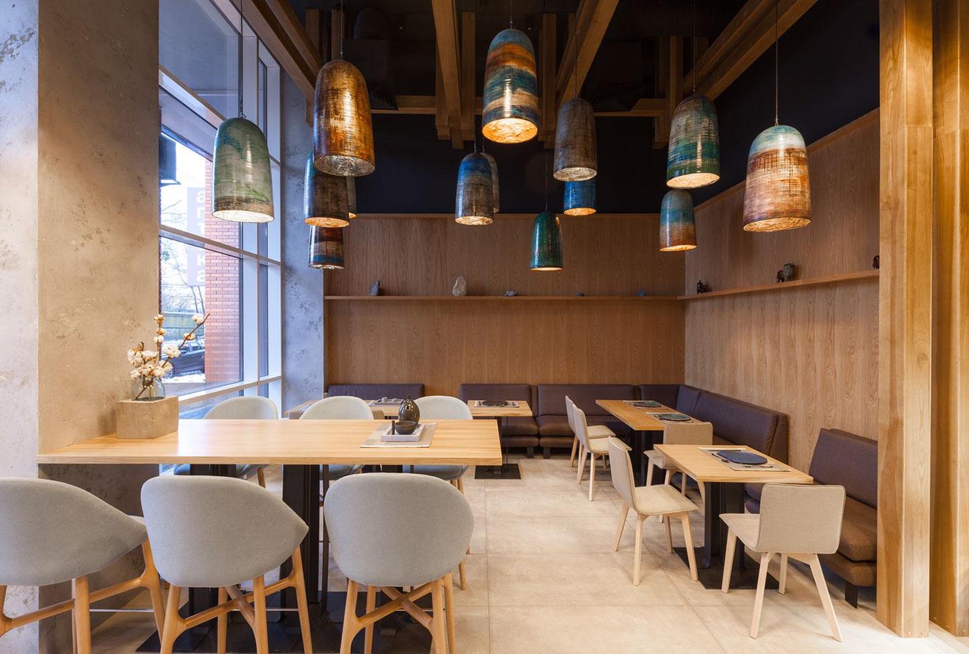 Brahms restaurant on behance