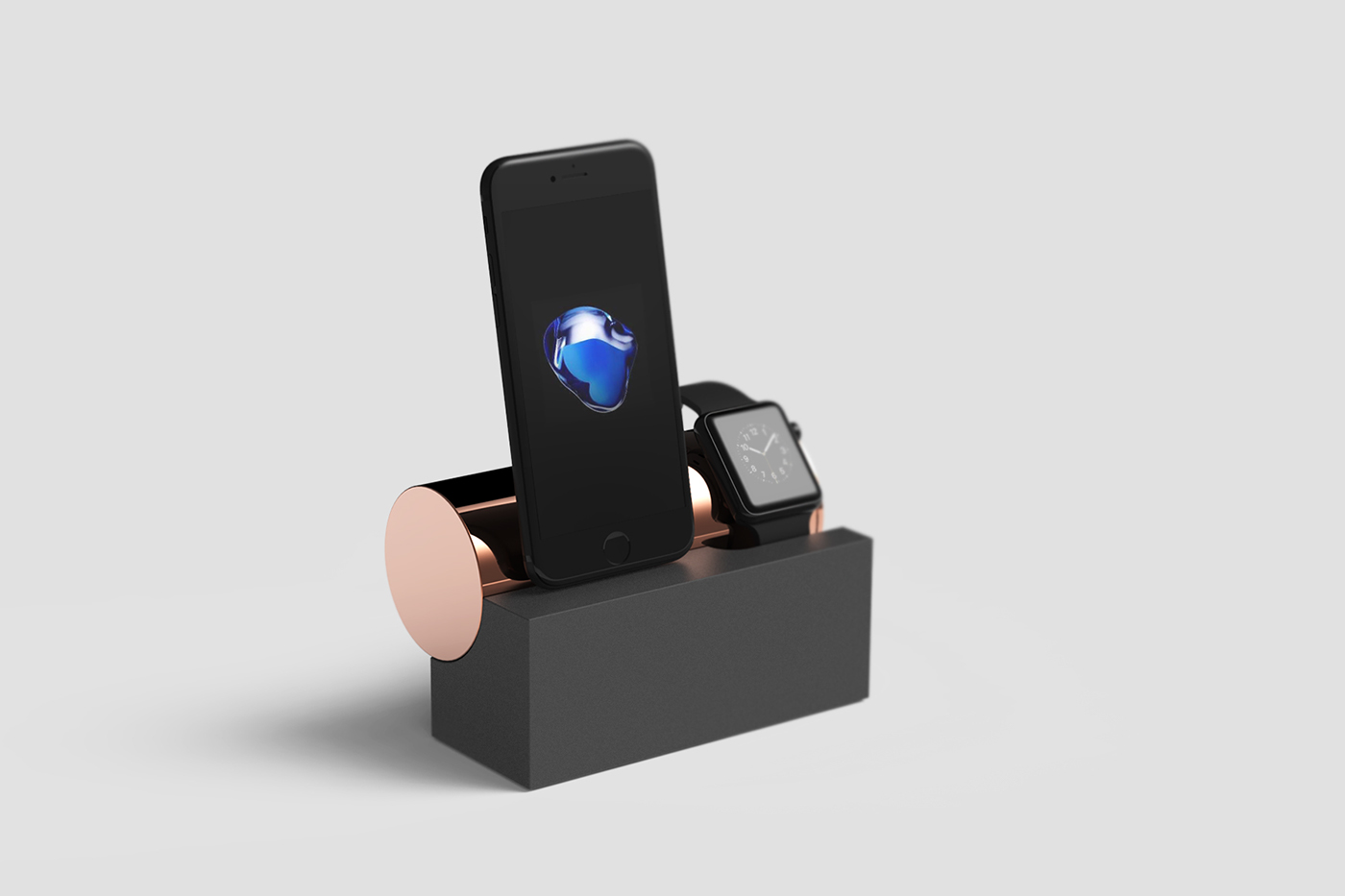 smartphone apple smartphone holder Stand geometric foundfounded object