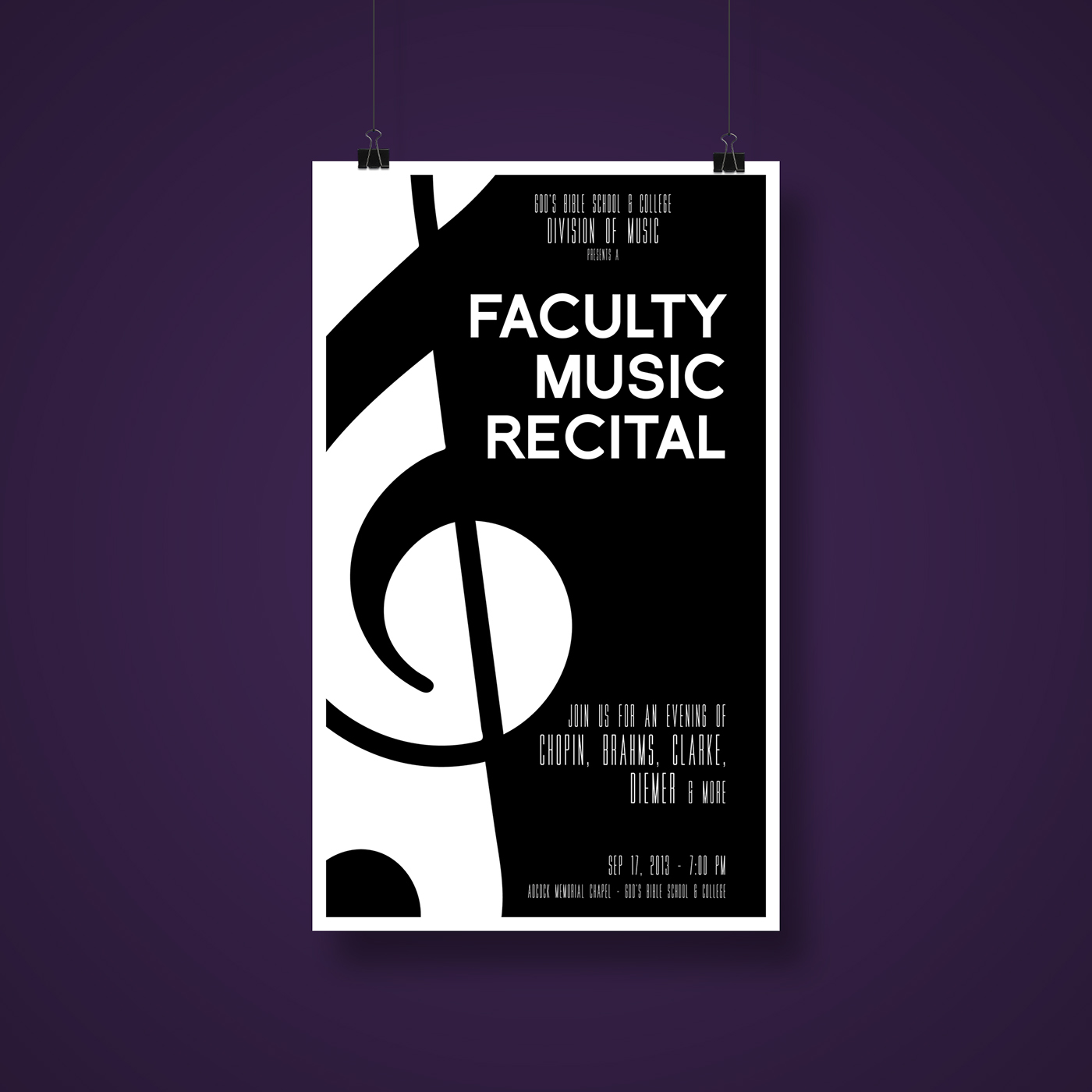 Below Is A Collection Of Concert And Recital Posters I Have Created Over The Past Few Years