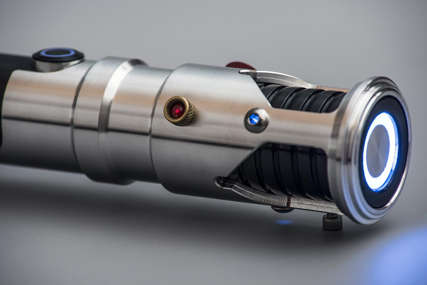 ultrasabers guardian lightsaber custom upgrade on behance