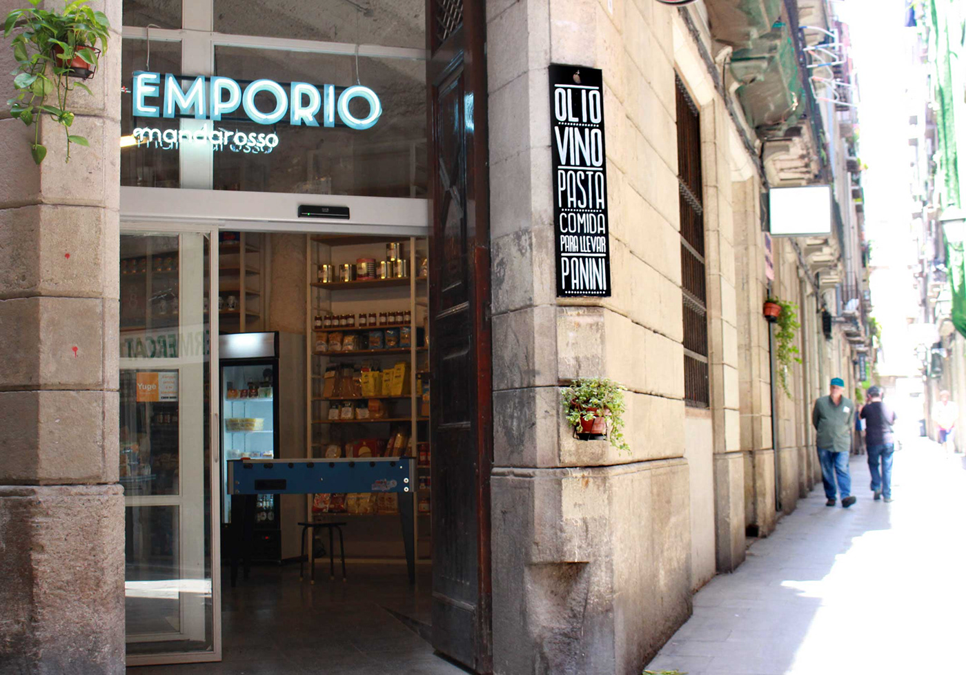 bag Corporate Design italian food store italin style Logotype Packaging