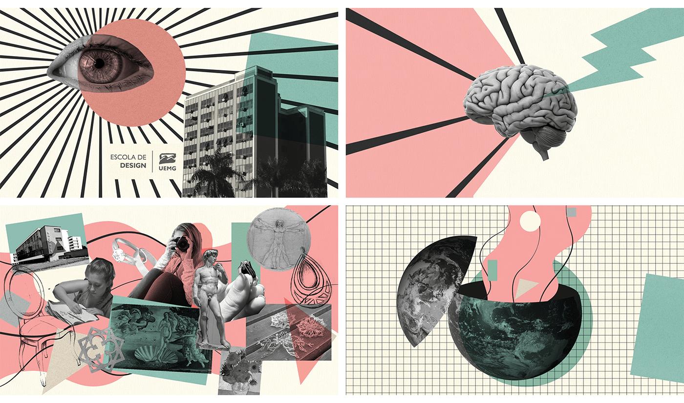 colagem collage Collage Motion Make Up motion