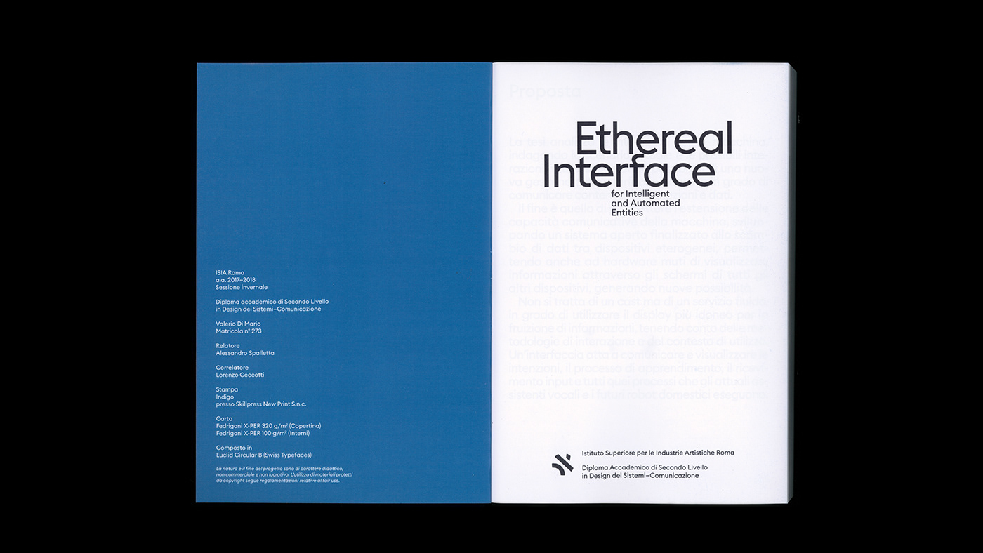 Ethereal Interface on Behance