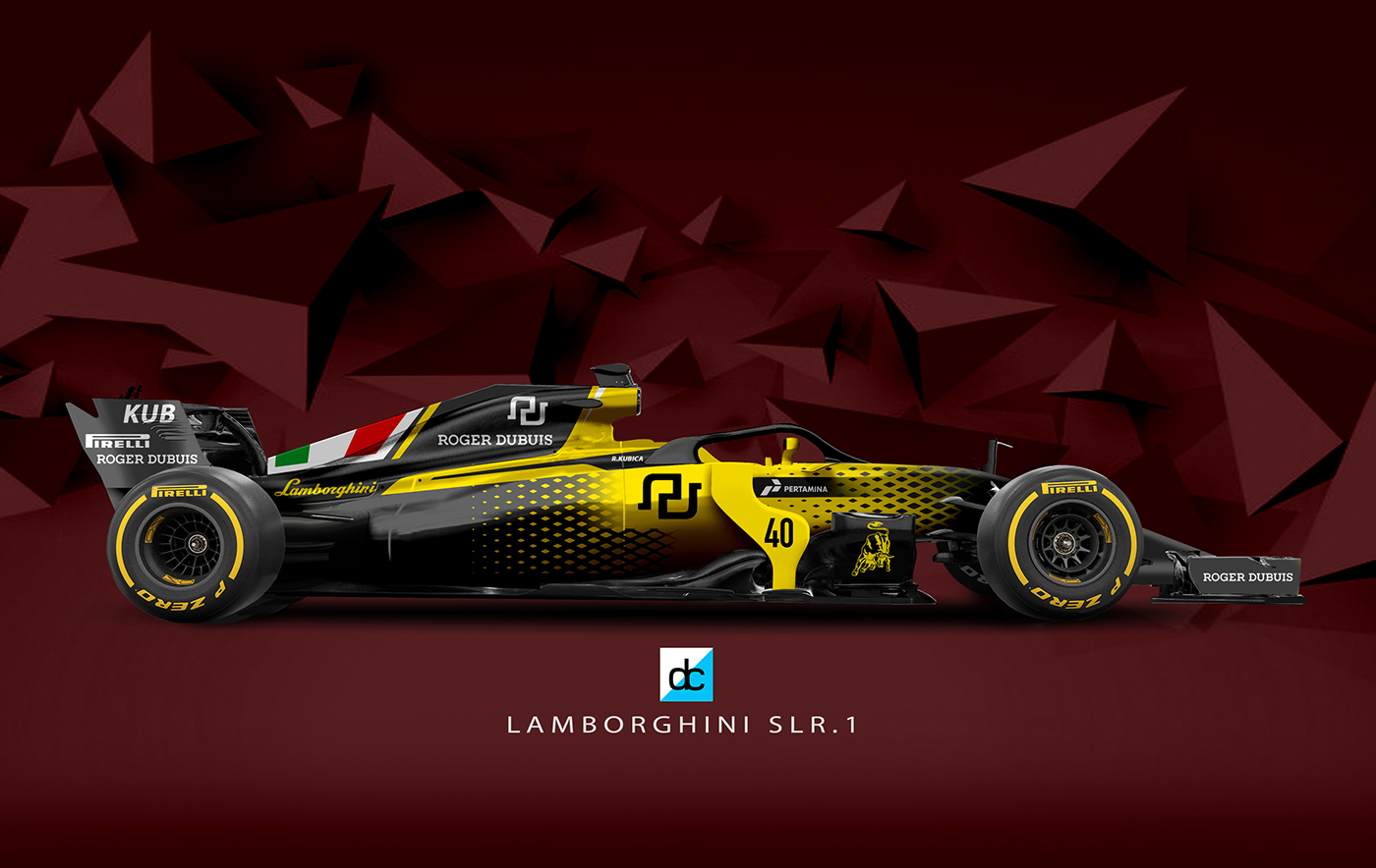 Lamborghini Racing F1 Team Concept Late Braking On Behance