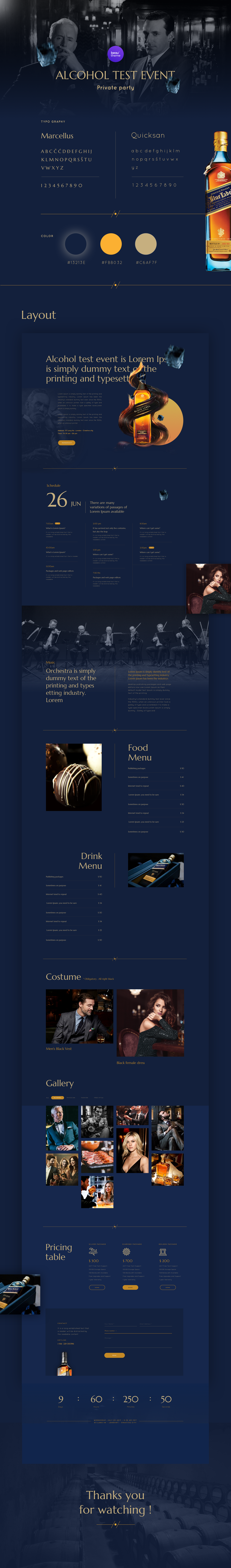 Event Party Landing Page Sketch Pinspiry - Event landing page template free
