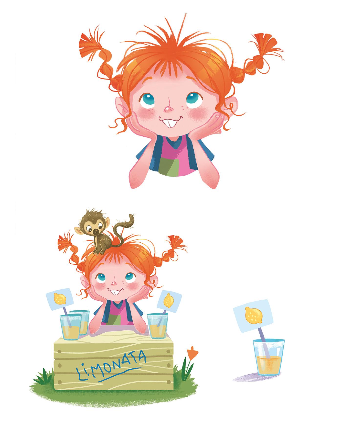 ILLUSTRATION  Character design  inspiration inspire cute children Drawing  digital paint pattern illustrazione
