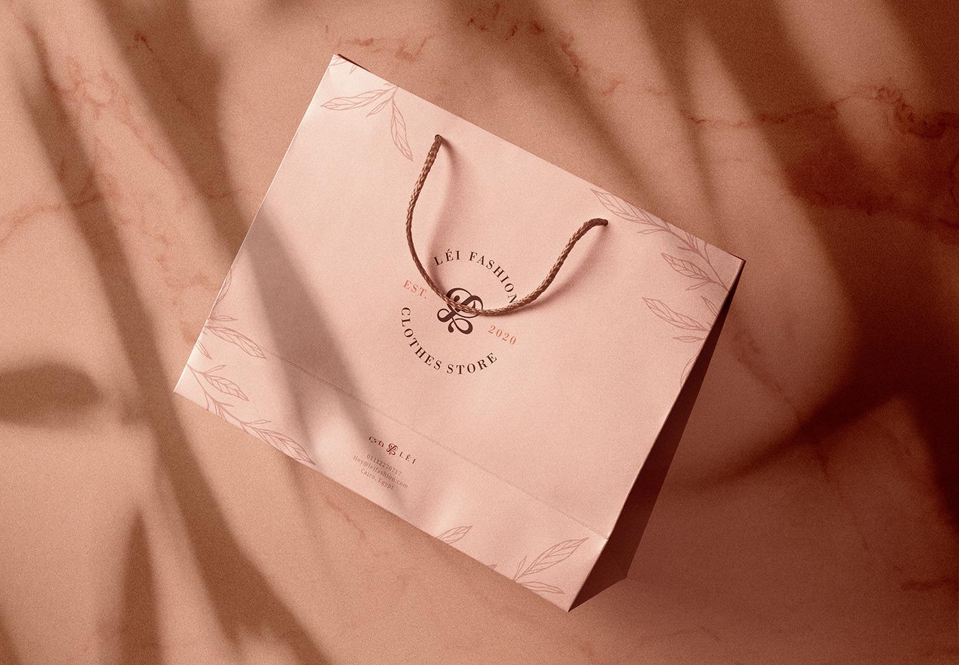 arabic branding  design elegant Fashion  floral identity logo UI&UX   wordmark