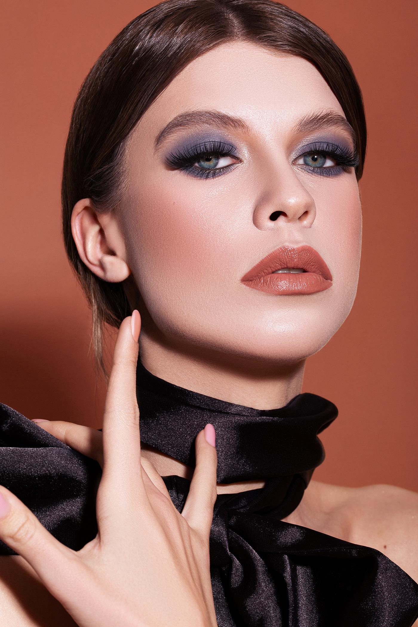 Fashion  makeup model retouch